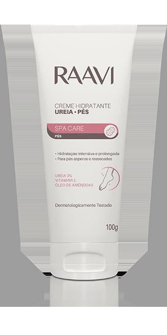 Creme Hidratante Ureia 3% Pés Raavi 100g