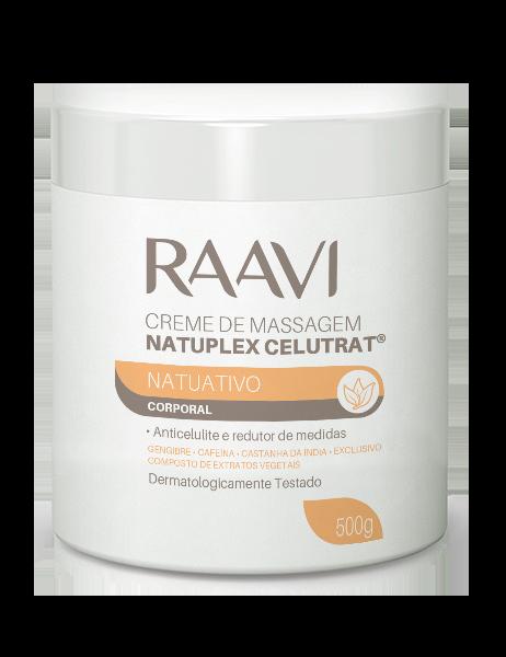Creme de Massagem Natuplex Anti-Celulite Raavi 500 g