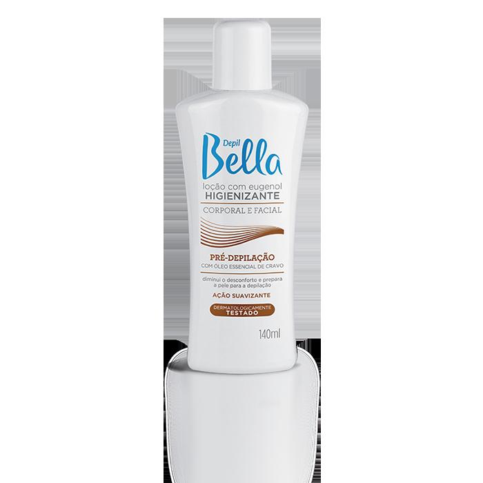 Loção Pré Depilatória Depil Bella com Eugenol Higienizante 140 ml
