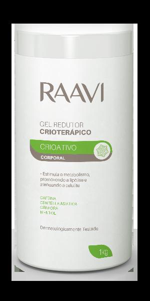 GEL REDUTOR CRIOTERÁPICO RAAVI 1KG