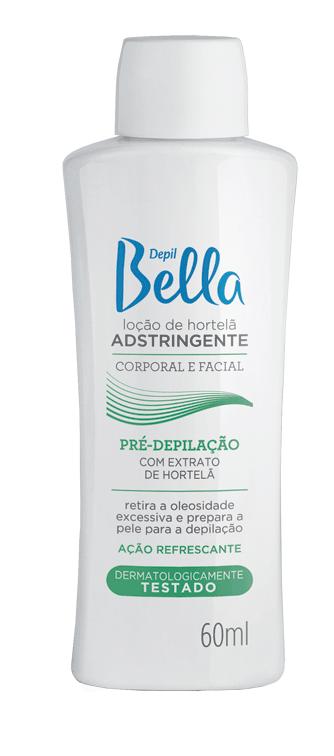 LOÇÃO ADSTRINGENTE HORTELÃ DEPIL BELLA 60ML