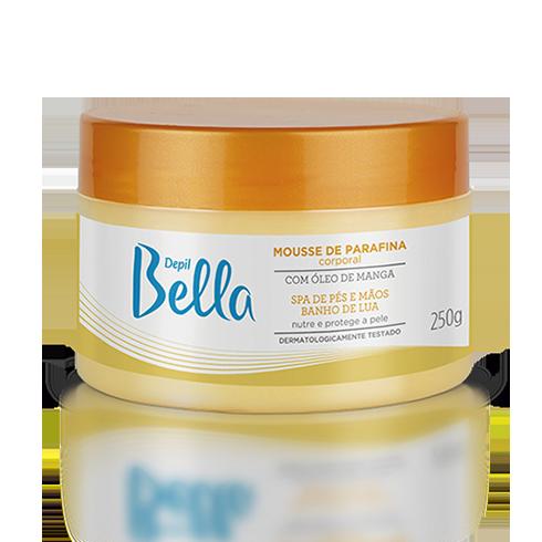 Mousse de Parafina com Óleo de Manga Depil Bella 250 g
