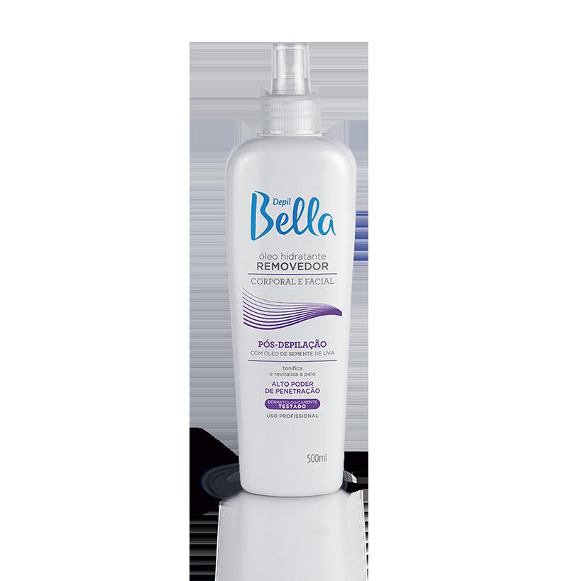 Óleo Hidratante Removedor com Óleo de Semente de Uva - Pós-Depilação Depil Bella 140 ml