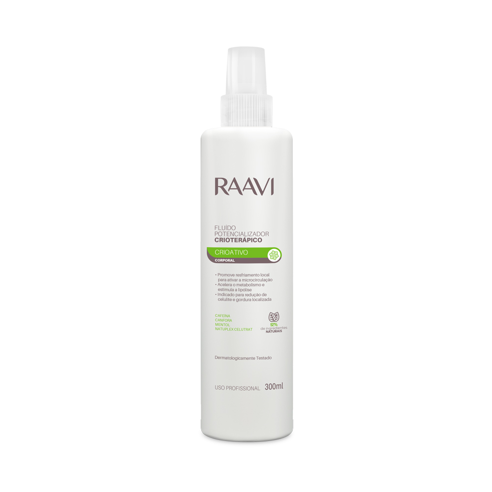 Fluido Potencializador Crioterápico Raavi 300 ml