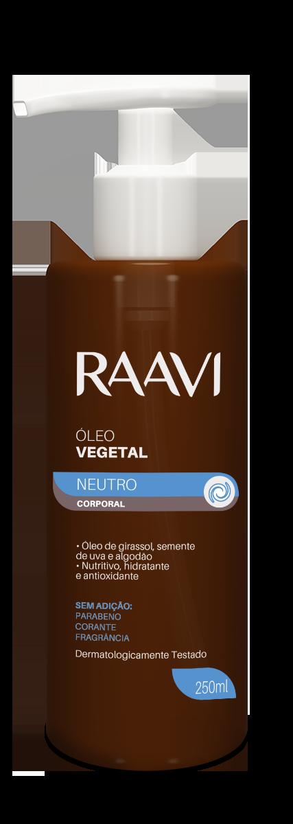 DESCONTINUADO - Óleo vegetal neutro Raavi 250ml