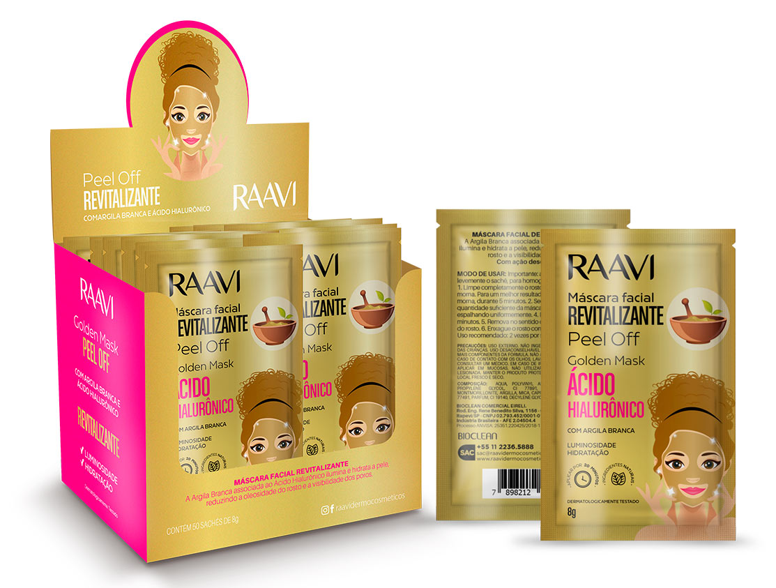SACHÊ GOLDEN MASK - PEEL OFF Raavi | 8G