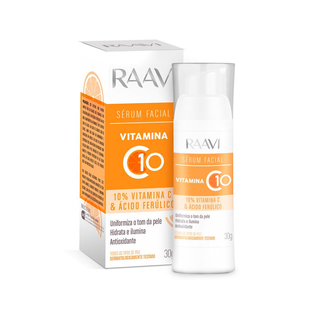 Sérum Vitamina C10 Raavi - 30 g
