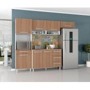 Armário para Cozinha Carol 4 Peças Branco Montana - Madine Móveis