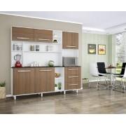 Armário para Cozinha Flora Branco Montana - Madine Móveis