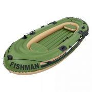 Barco Fishman 400 Com Remos - Mor