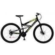 Bicicleta Colli 239 Aro 29 Freio a Disco Dupla Suspensão 21 Marchas Preto Fosco