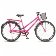 Bicicleta Colli Barra Fort Pink Aro 26 36 Raias Freios V-Brake