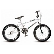 Bicicleta Colli Cross Extreme Free Ride Branco Aro 20 36 Raias Freios V-Brake