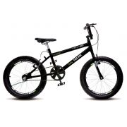 Bicicleta Colli Cross Extreme Free Ride Preto Aro 20 36 Raias Freios V-Brake