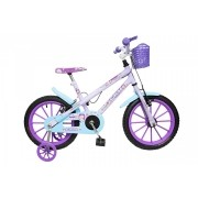 Bicicleta Colli Girls Aurora Aro 16 Freios V-Brake