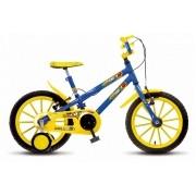 Bicicleta Colli Hot Aro 16 Azul Freios V-Bracke