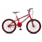 Bicicleta Colli Max Boy Vermelho Aro 20 Freios V-Brake