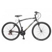 Bicicleta Colli MTB CB500 Preto Fosco Aro 26 36 Raias Freios V-Brake