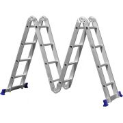 Escada Multifuncional 4X4 - Mor
