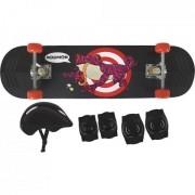 Kit Skate Infantil Sapo - Mor