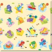 Tapete Baby Play Mat Pequeno Safety 1st Dino Sports