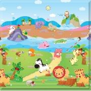 Tapete Baby Play Mat Pequeno Safety 1st The Sporty Animals