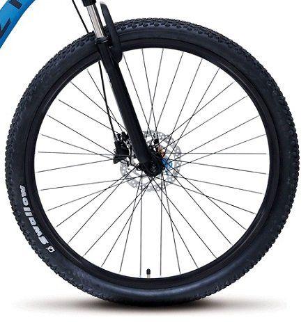 b53a0f64ce1aba Bicicleta Colli Aluminio A.29 Freio Disco Suspensão Dianteira com ...