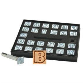 Alfabeto para Gravar Couro Tandy Leather 8130-00 Importado