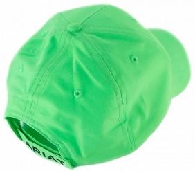 Boné Ariat Importado com Regulagem Velcro Fluorescente Verde
