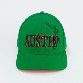 Boné Austin Western Infantil Tradicional Verde Regulagem