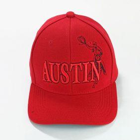Boné Austin Western Infantil Tradicional Vermelho Regulagem