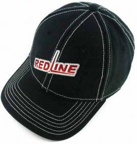 Boné Fast Back Importado com Bordado RedLine e Regulagem Velcro Ajustável Preto