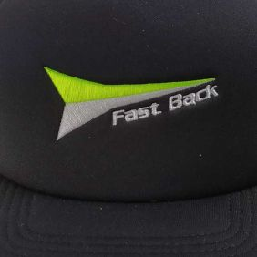 Boné Fast Back Masculino Aba Reta Tela Western Verde Preto