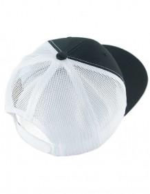 Boné Hooey Masculino Aba Curva Importado HOG Branco e Preto