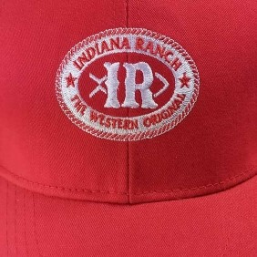 Boné Indiana Ranch Country Regulagem Vermelho