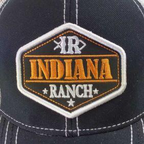 Boné Indiana Ranch em Tela Masculina Regulagem e Logomarca IR
