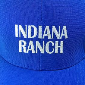 Boné Indiana Ranch Regulagem Snapback Masculino Azul