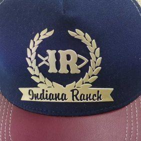 Boné Indiana Ranch Western Tela Regulagem Snapback