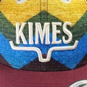 Boné Kimes Ranch Importado Aba Curva Snapback Estampa