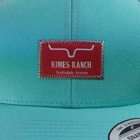 Boné Kimes Ranch Tradicional Snapback Verde Água