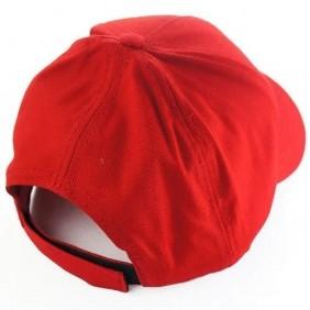 Boné Professional's Choice Tradicional com Regulagem Velcro e Bordado Frontal Vermelho