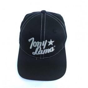 Boné Tony Lama Ajustável Velcro Importado Preto