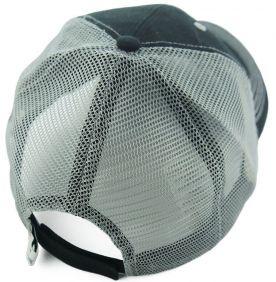 Boné Twister Importado Tela e Regulagem Velcro Preto e Cinza
