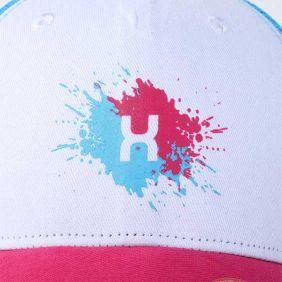 Boné TXC Feminino  Estampado Aba Curva Rosa Azul