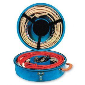 Caixa Para Cordas Laços Em Plastico Resistente E Alças Azul