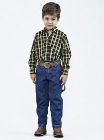 Calça Jeans Dock's Western Infantil Carpinteira