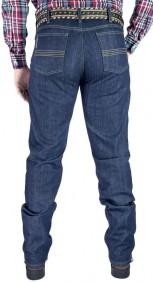 Calça Jeans Fast Back Masculina NEW Escura com Elastano