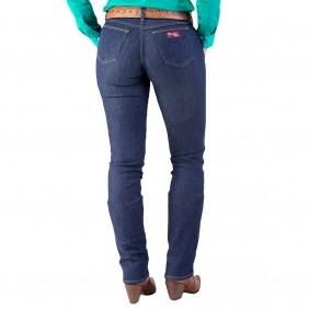 Calça Jeans Feminina Wrangler 20X Tradicional Escura