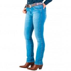 Calça Jeans Feminina  Wrangler Light Degrade Cowgirl Cut