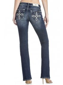 Calça Jeans Importada Miss Me Feminina Cross Flap Pockets